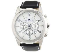 Herren-Armbanduhr XL Analog Quarz Leder 5413502
