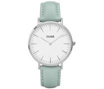 Damen Armbanduhr Analog Quarz Leder CL18225