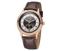 Analog Quarz Uhr mit Leder Armband 11100270