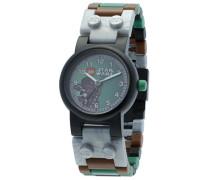 Star Wars 9001116 Chewbacca Kinder-Armbanduhr mit Minifigur und Gliederarmband zum Zusammenbauen