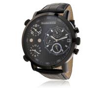 Armbanduhr XL Cosmos - Automatic Collection Analog Automatik Leder OZG1131