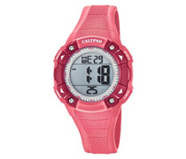 Digital Quarz Uhr mit Plastik Armband K5728/2