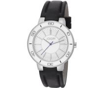 ! Damen-Armbanduhr Analog Quarz Leder JP101032F06U