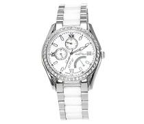 Armbanduhr Analog Quarz Premium Keramik Diamanten - STM15M1
