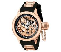 1090 Russian Diver Uhr Edelstahl mechanisch schwarzen Zifferblat