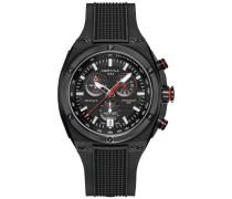 Armbanduhr XL Chronograph Quarz Kautschuk C023.739.17.051.00