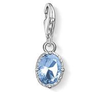 Anhänger blauer Stein 925 Sterling Silber 1670-009-1