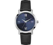 Herren-Armbanduhr Analog Quarz Leder W0793G2