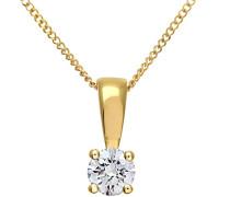 Damen-Halskette Gelbgold