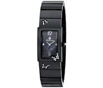 Armbanduhr für mit Analog Anzeige, Quarz-Uhr mit Metall Armband - Wasserdichte Damenuhr mit zeitlosem, schickem Design - klassische