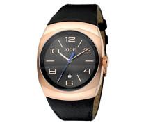 Damen-Armbanduhr Analog Quarz Leder JP100681F01