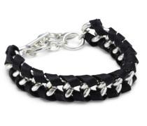 Jewelry Armband aus der Serie Winter Bracelets versilbert schwarz 18.0 cm 251246162
