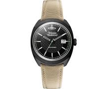 Herren-Armbanduhr Analog Beige VV136BKBG