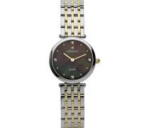 1045/BT99 Armbanduhr-Quarz-Analog Edelstahl zweifarbig