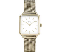 Analog Quarz Uhr mit Edelstahl Armband CL60002