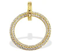 Halskette Gelb Gold 585 92 Diamanten 0