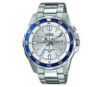 – mtd-1079d-7 a1vef – Standard – Zeigt Armbanduhr 1076312 Analog Stahl Silber
