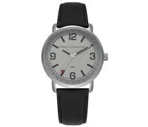 Datum klassisch Quarz Uhr mit Leder Armband FC1312B