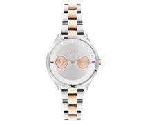 Analog Quarz Uhr mit Edelstahl Armband R4253102507
