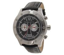 Armbanduhr Automatik Analog Leder Schwarz - OZG1093
