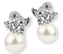 Ohrstecker Pearl of Angels 925 Silber Perle weiß LD PA 21 PW W