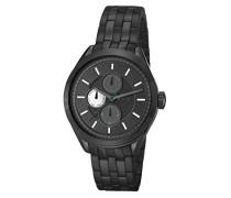 ! Armbanduhr GEORGE Analog Quarz Edelstahl JP101611006