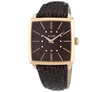 ! Damen-Armbanduhr Analog Quarz Leder JP100732F05U