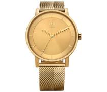 Analog Quarz Uhr mit Edelstahl Armband Z04-502-00