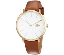 Damen-Armbanduhr, Braun/Weiß, 2000947