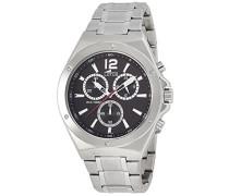 Armbanduhr XL Analog Quarz Edelstahl 10118/4
