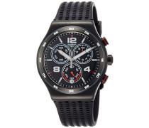 Erwachsene Chronograph Quarz Uhr mit Silikon Armband YVB404