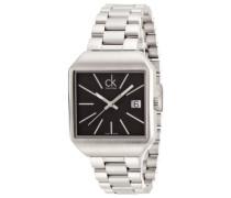 Damen-Armbanduhr Analog Quarz Edelstahl K3L33161