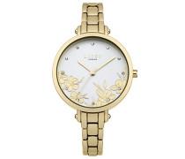 Datum klassisch Quarz Uhr mit Aluminium Armband LP546
