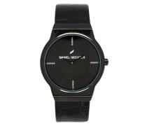Damen-Armbanduhr Analog Quarz Leder DHD 001/3AA