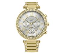 Datum klassisch Quarz Uhr mit Aluminium Armband LP561