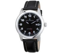 Armbanduhr XL Pilot Basic Analog Automatik Leder 17070.2537