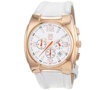 Damen-Armbanduhr Analog Quarz Leder 600718