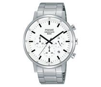 Chronograph Quarz Uhr mit Edelstahl Armband PT3883X1