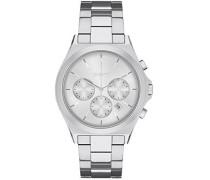 Analog Quarz Uhr mit Edelstahl Armband NY2378