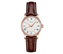Armbanduhr XS Baroncelli Analog Automatik Leder M76002218