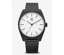 Analog Quarz Smart Watch Armbanduhr mit Edelstahl Armband Z02-005-00