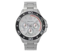 Analog Quarz Uhr mit Edelstahl Armband NAPP25005