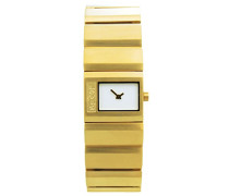 Damen-Armbanduhr Analog Quarz Edelstahl L020GI2