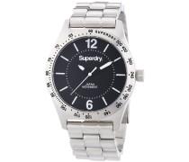 Damen-Armbanduhr Analog Quarz Edelstahl SYL124BM