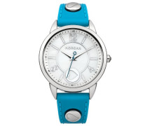 Damen-Armbanduhr Analog Quarz Blau M1193U