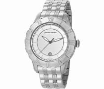 Armbanduhr Parangon Analog Quarz Edelstahl Swiss Made