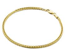 Armband - Armreif Gelbgold 9 Karat/375 Gold Weizen Kette 19.5 cm