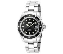 9937OB Pro Diver Uhr Edelstahl Automatik schwarzen Zifferblat