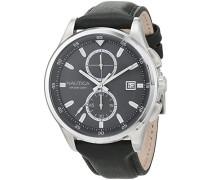 Analog Quarz Uhr mit Leder Armband NAD16538G