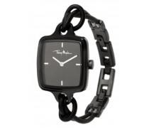 4703104 – Armbanduhr Analog Damenuhr mit Lederarmband